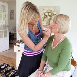 Louise Lunn make-up artist