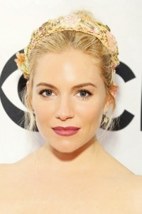 Sienna Miller, beautiful Bridal make-up