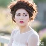 Contemporary Lavender Wedding Photo Shoot