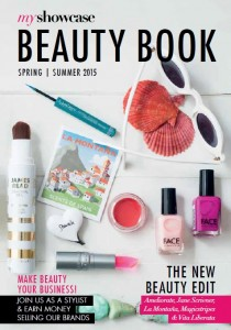 SS'15 Beauty Book Cover